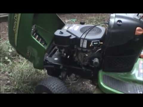 John Deere L110 Charging System Repair (ReUploaded)  YouTube