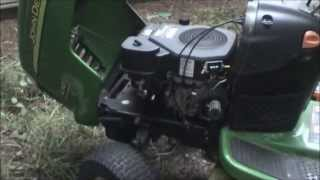 John Deere L110 Charging System Repair (Re-Uploaded)