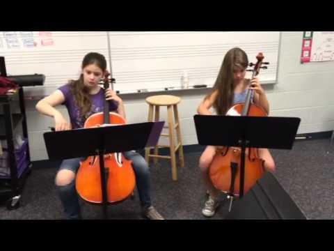 Blueberry Hill Elementary School Kummer Cello Duet