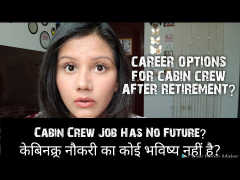 Cabin Crew/Air hostess Job has no future? Career Options after Retirement? Mamta Sachdeva