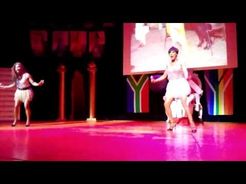 Miss Gay Western Cape 2015 - some entertainment