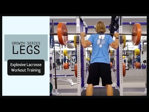 Explosive Lacrosse Workout Training - Growth Series Legs