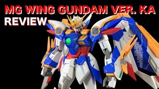 Mg Wing Gundam Ver Ka Review Youtube