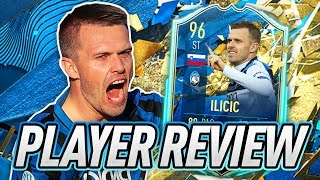2 Balance! 🙃 96 Totssf Ilicic Player Review!   Fifa 20 Ultimate Team