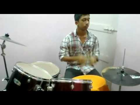 Tujhe Bhula Diya _ Hello (Synchronicity) drums cover by SED