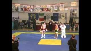 Alessandro Riguccini vs Giacomo Saturnini Titolo Italiano Pro CKA -70 kg