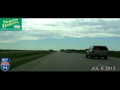 Milwaukee WI to Seattle WA Time Lapse Drive