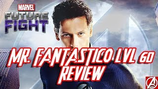 MARVEL FUTURE FIGHT REVIEW MR. FANTASTICO LVL 60 GAMEPLAY ESPAÑOL