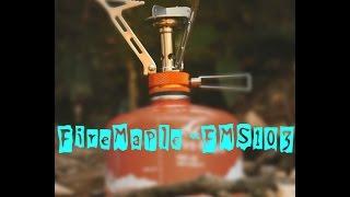 Газовая горелка Fire-Maple «FMS-103». Обзор, эксплуатация, испытания.