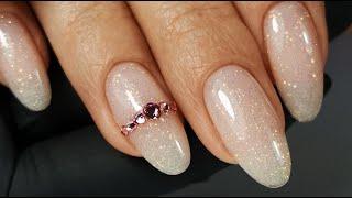 Manicure with Glitter Маникюр с Блёстками
