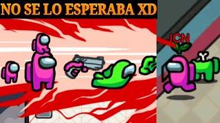 TROLLEO SUPER EPICO SIENDO IMPOSTOR XD TROLLING/among us como poner en español :D
