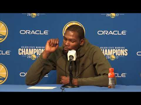 Kevin Durant Postgame Interview / GS Warriors vs Hornets / Dec 29