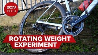 회전하는 휠 무게가 중요하지 않은 이유 : 실제 사이클링 실험