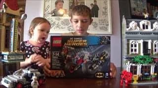 LEGO BATMAN: GOTHAM CITY CYCLE CHASE FAST BUILD SET 76053