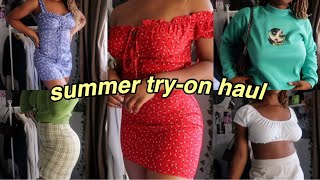 summer try-on haul *cute* | she-in, aliexpress + more