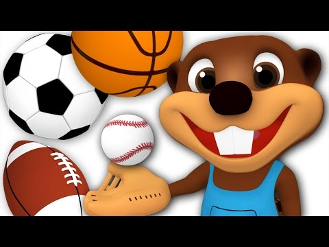 Kids Go Play | Busy Beavers Play with Sport Balls, Children's Outdoor Activities, Video for Toddlers
