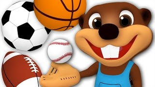 Kids Go Play | Busy Beavers Play with Sport Balls, Children