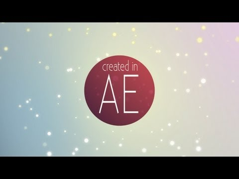 Make a Field of Particles (No Plugins Needed) | After Effects Tutorial