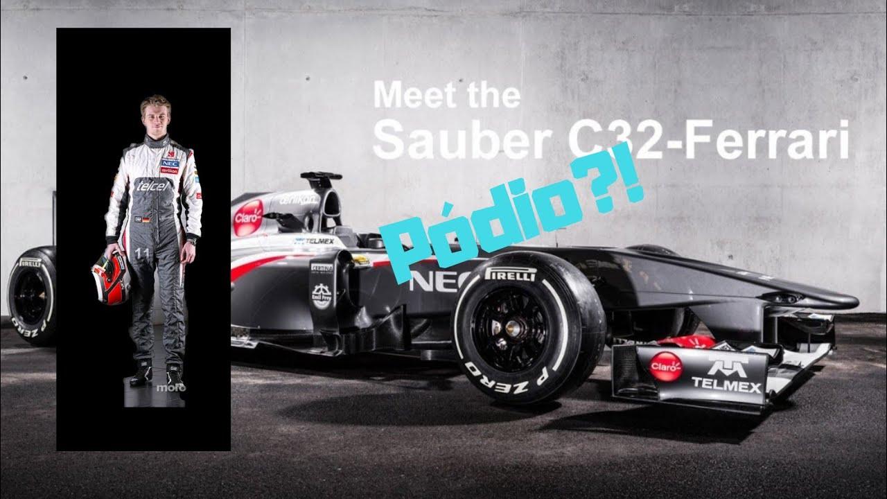 Finalmente o Hulkenberg conseguiu um pódio!!! F1 2013