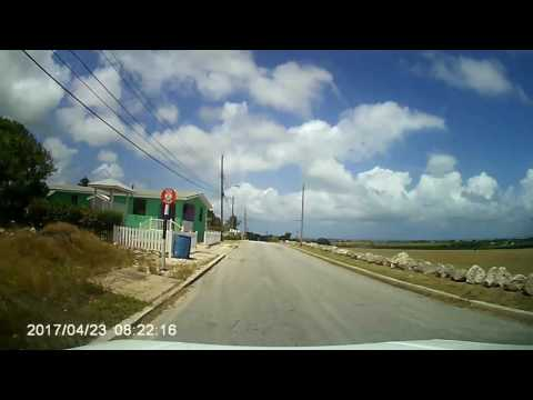 Driving In Barbados - Country Run   April 2017