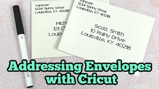 How to Address EnveĮopes with Cricut Maker Tutorial | Addressing Envelopes with Cricut Pens