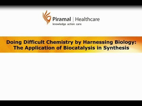 Biocatalysis: Doing Difficult Chemistry by Harnessing Biolog