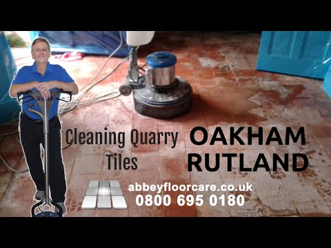 cleaning-quarry-tiles-in-oakham---rutland---abbey-floor-care