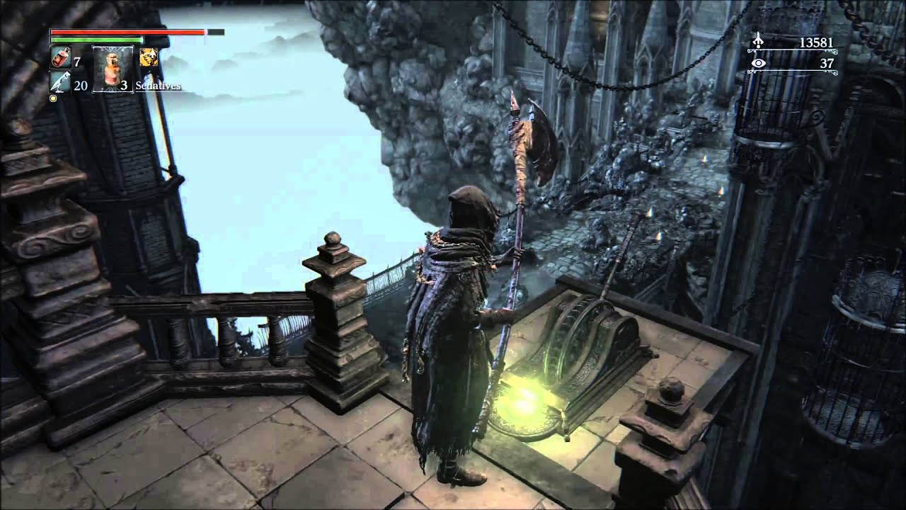 how to use stealth in bloodborne