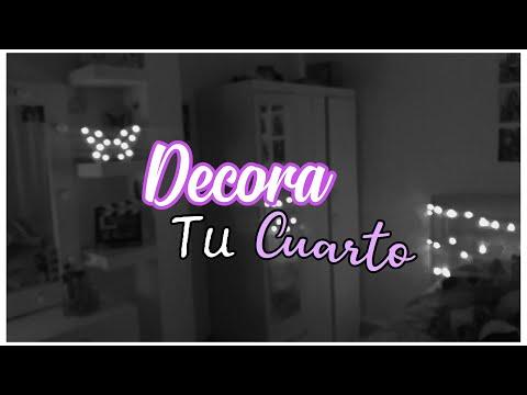 DECORA Y RE-MODELA TU CUARTO (fácil) / MARI URIBE