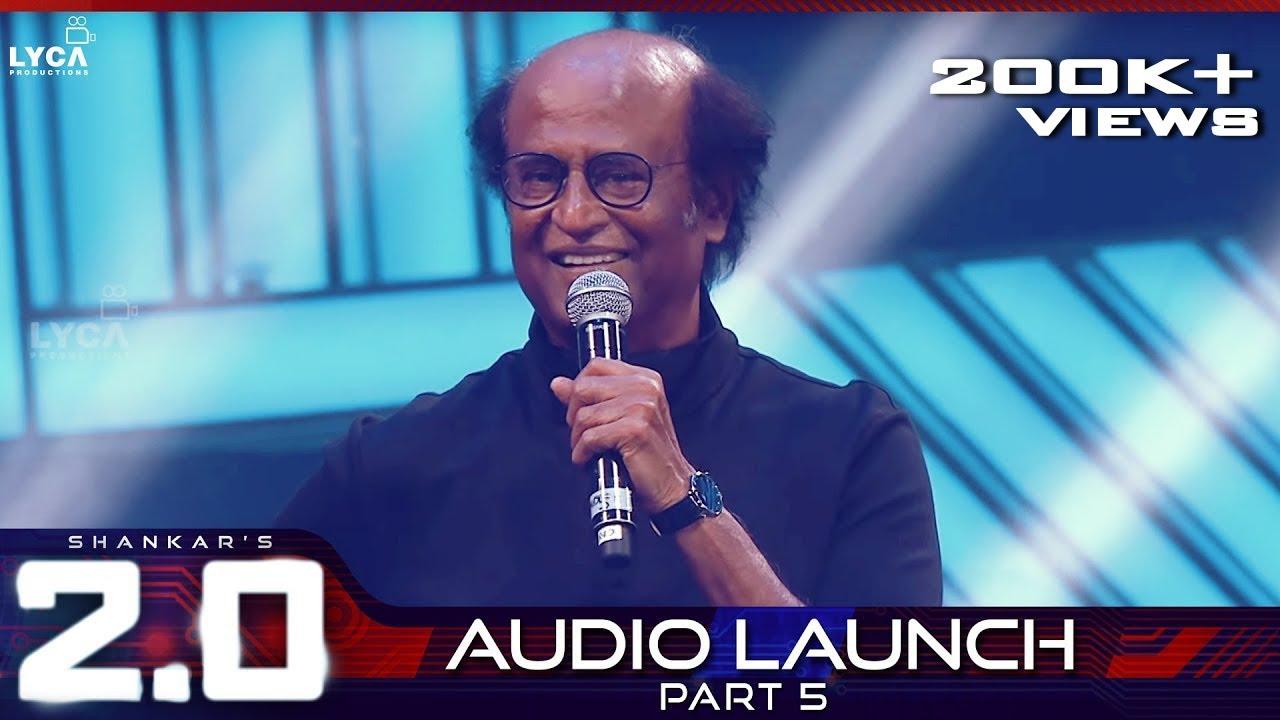 2.0 Audio Launch - Part 5 | Rajinikanth, Akshay Kumar | Shankar ...