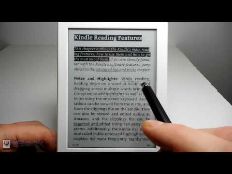 Amazon Kindle Review 2016 White Kindle (8th Gen)