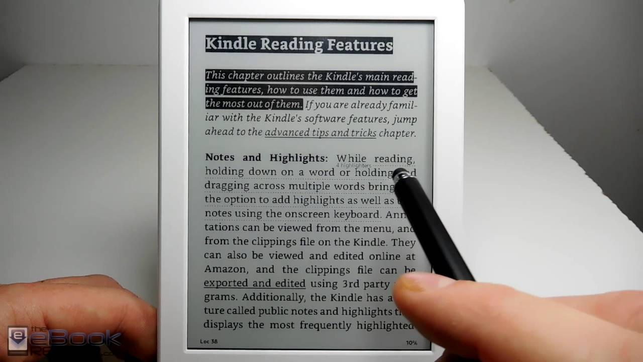 Kindle Libro Electronico Amazon Kindle Review 2016 White Kindle 8th Gen