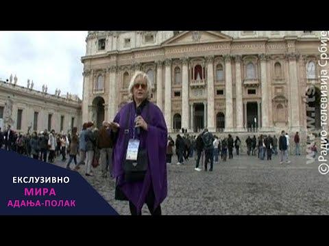 Mira Adanja Polak: Ekskluzivno - Vatikan