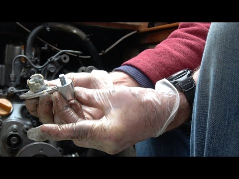 How to replace the engine anode on a Yanmar 1GM10
