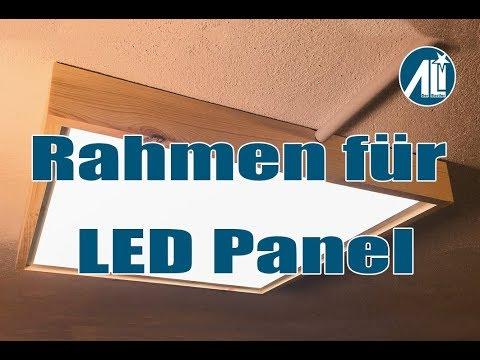 Hervorragend ✅ Rahmen für LED Panel ⎮ Deckenbefestigung ⎮ Für unter 5 Euro MW73