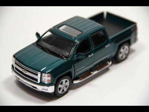 Obzor Modeli Chevrolet Silverado Kinsmart Youtube
