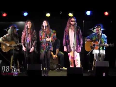 """Crystal Fighters """"Follow"""" Live Acoustic Performance"""