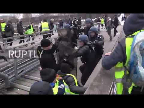 8th Week of Yellow Vests Protests; Rage After Founder Arrested