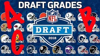 Every Team's 2018 NFL Draft Grade | NFL