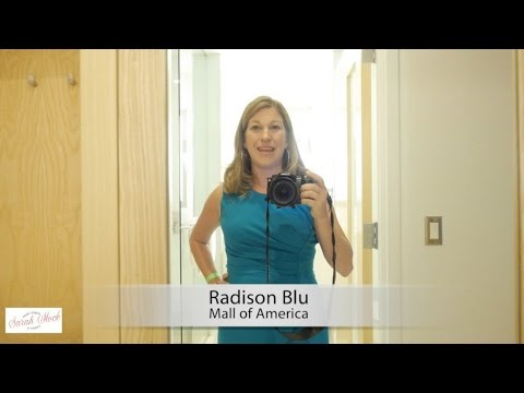 Radisson Blu Mall of America Hotel Room Tour