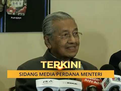 Sidang Media Perdana Menteri, Tun Dr Mahathir Mohamad