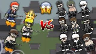 Mini Militia 3vs9 Sniper Mod Lobby Ft. Games@glance and MiLiTian | Doodle Army 2: Mini Militia #74