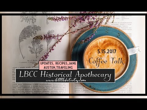 Coffee Talk May 2017: Events, Shop, Travel, Jane Austen, Recipes & More