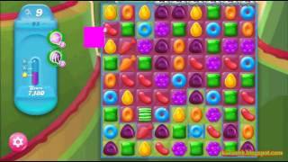 Candy Crush Jelly Saga - Level 95 (3 star, No boosters)