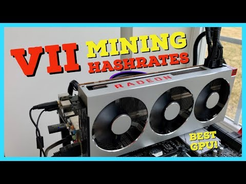 The BEST GPU for Mining EVER - Radeon VII Mining Review | Hashrates | Profitability | Overclocks