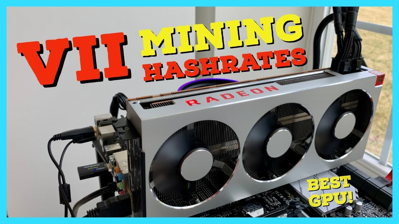 The BEST GPU for Mining EVER - Radeon VII Mining Review | Hashrates |  Profitability | Overclocks