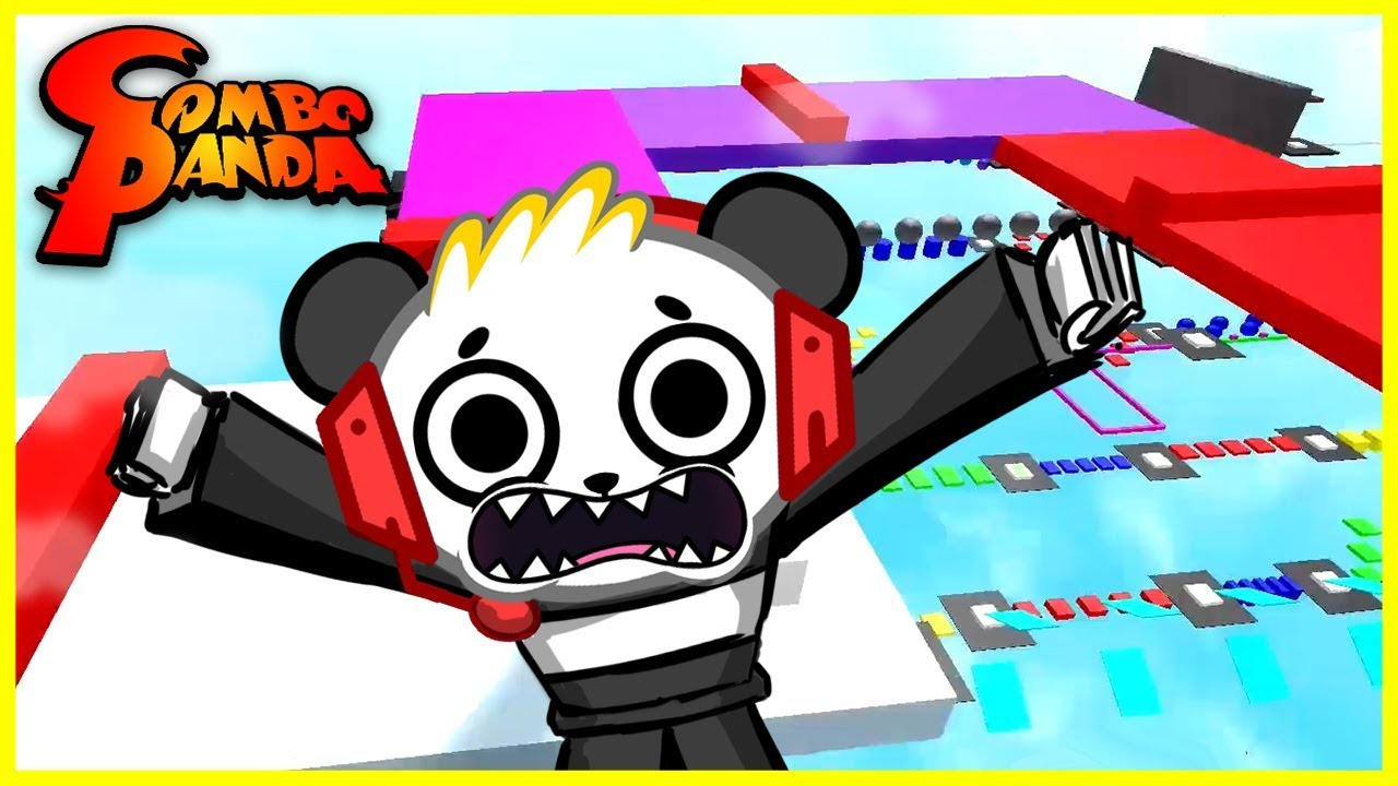 ROBLOX Mega Fun Obby STAGE 160 Let's Play with Combo Panda