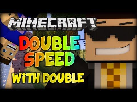 "Minecraft: Double Speed w/ Double! [Round 4] - ""PIGOTHY"""