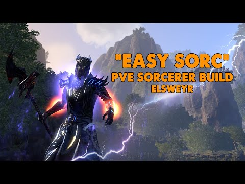 ESO - Easy Sorc - Magicka Sorcerer PVE Build - (Elsweyr)
