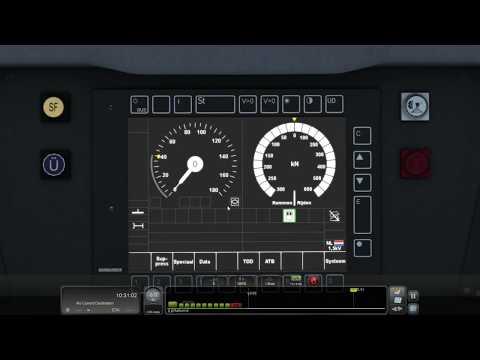 Traxx 186 Tutorial 3: ETCS Full Supervision Mode
